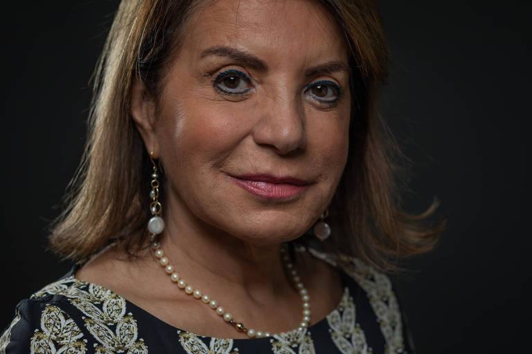 Retrato feito na Alesp (Assembleia Legislativa do Estado de São Paulo) da deputada estadual Maria Izabel Azevedo Noronha, a Professora Bebel (PT)