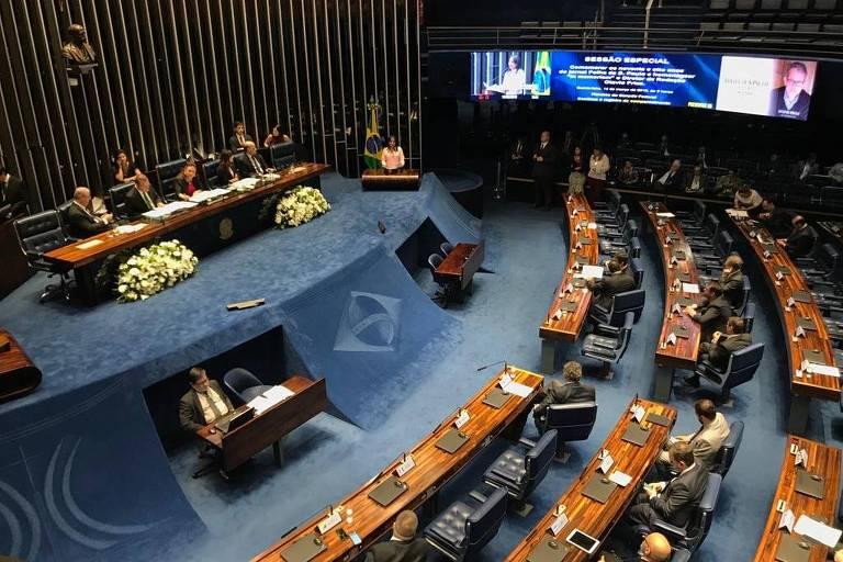 Senado Federal homenageia os 98 anos do jornal Folha de S.Paulo