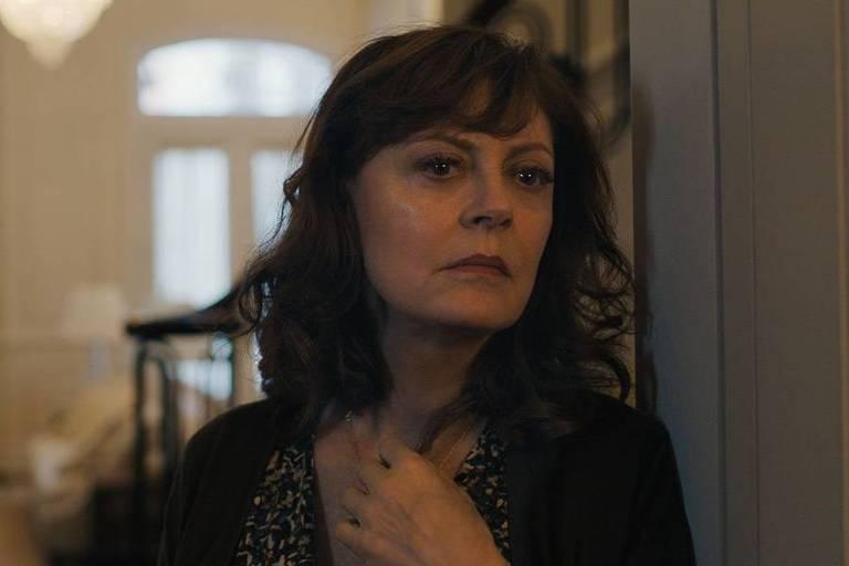 A atriz Susan Sarandon em cena