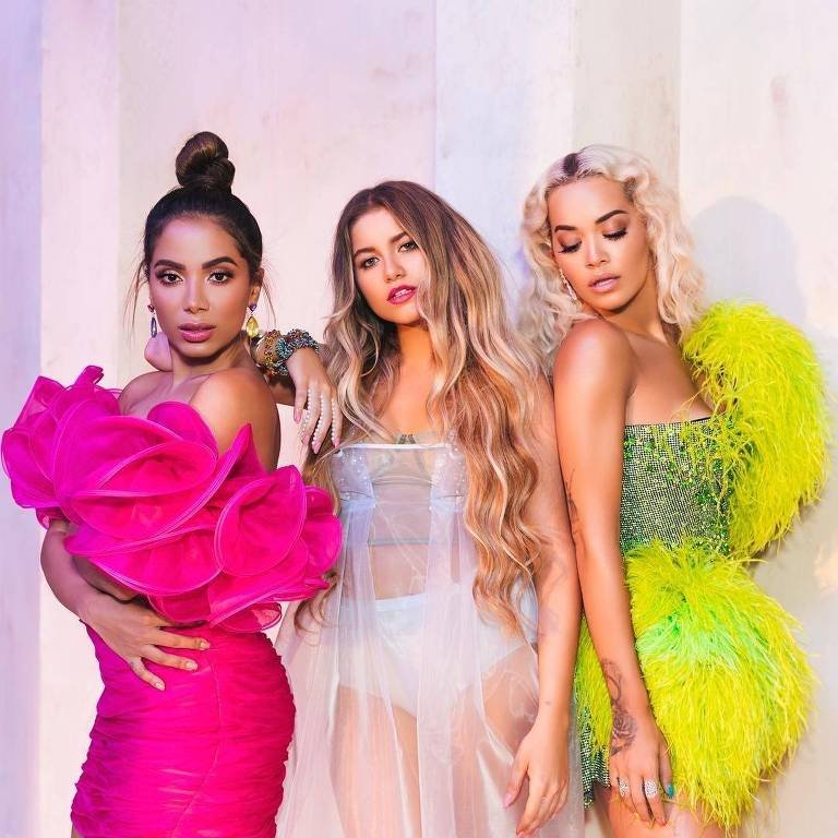 Anitta, Sofia Reyes e Rita Ora
