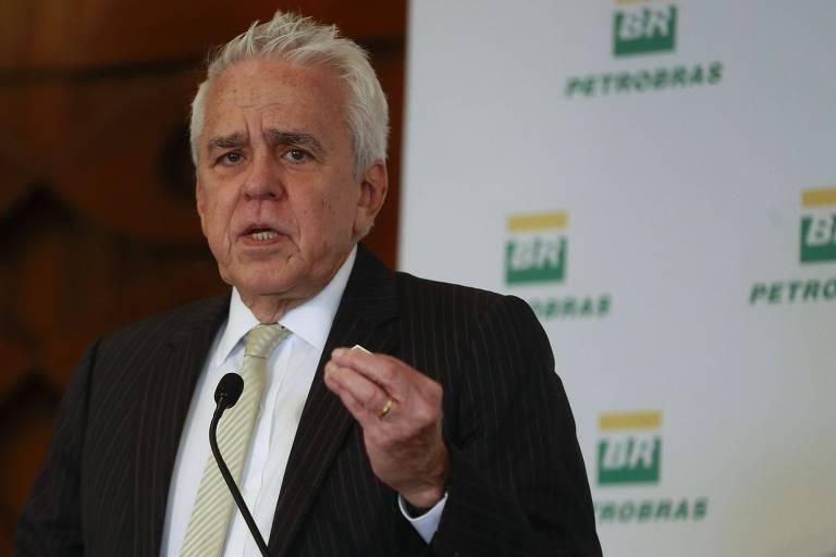 O presidente da Petrobras, Roberto Castello Branco, em evento no Rio