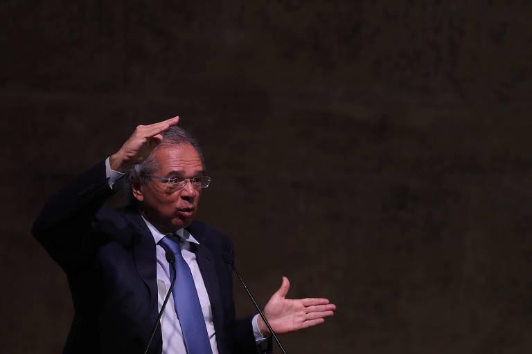 Ministro Paulo Guedes em evento no Rio de Janeiro