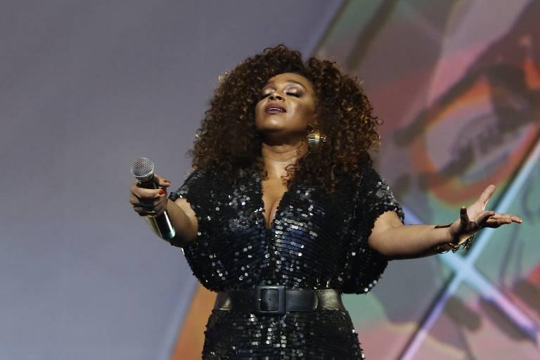 A cantora Negra Li