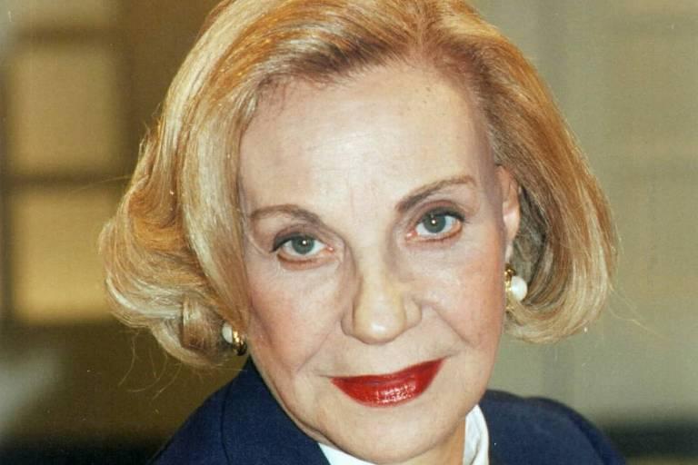 a atriz Márcia Real