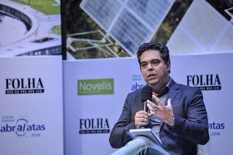 Alexander Turra, professor titular do Instituto Oceanográfico da USP, durante fórum em Pinheiros, zona oeste paulistana, em agosto do ano passado