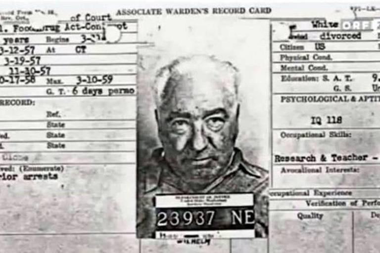 Ficha criminal de Wilhelm Reich