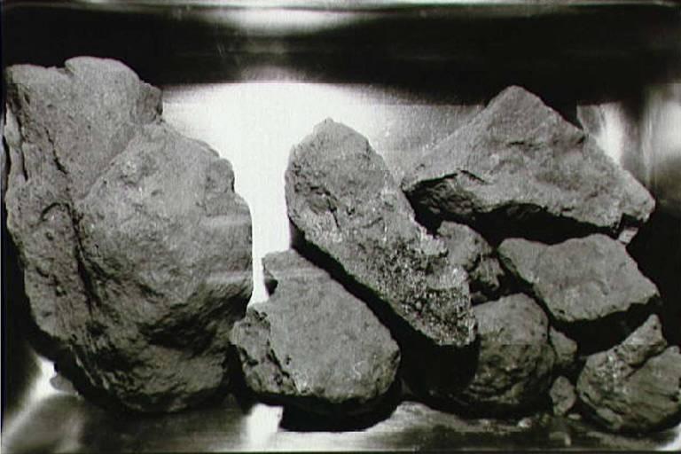 Rochas lunares trazidas por astronautas da Apolo 11