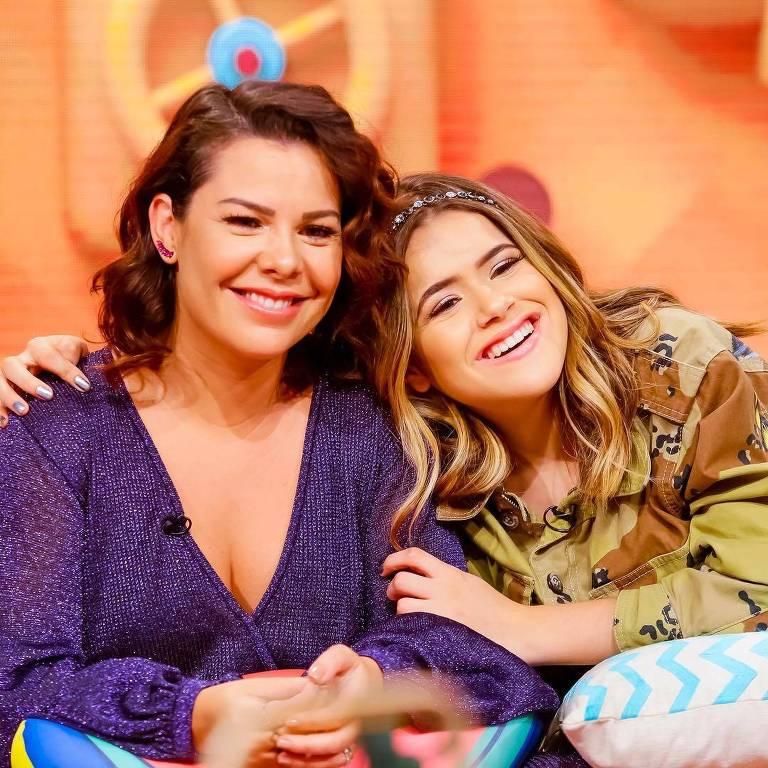 Fernanda Souza e Maisa