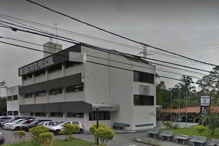 Prédio do 90º Distrito Policial no Parque Novo Mundo, na zona norte de São Paulo