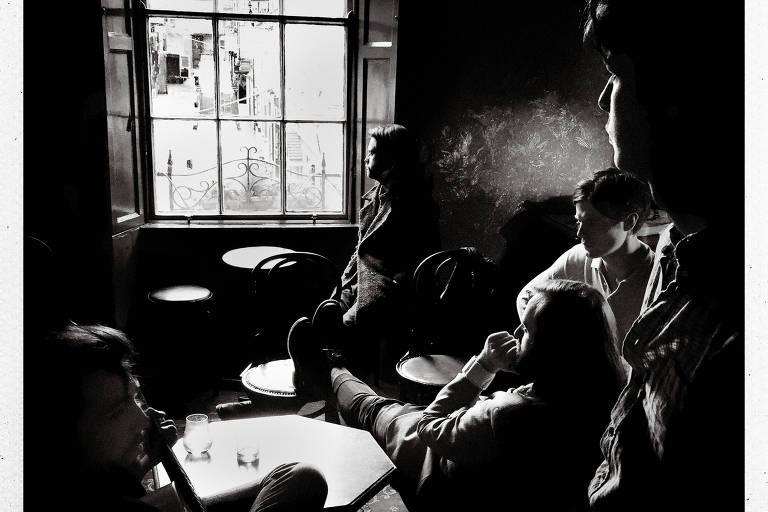 A banda irlandesa Fontaines DC