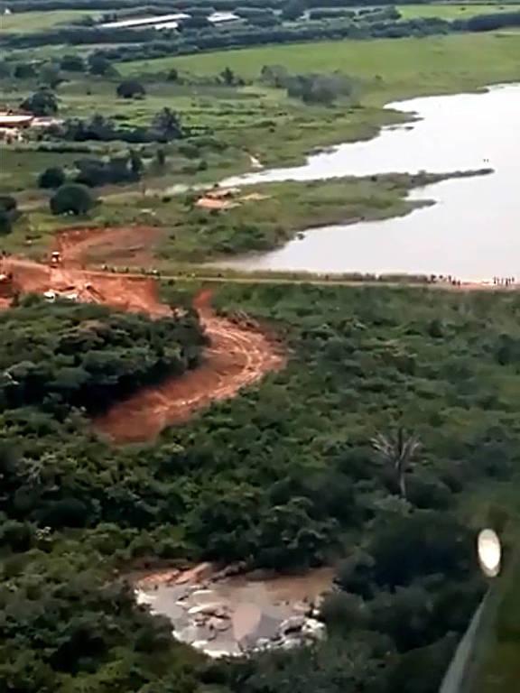 Barragem corre risco de romper
