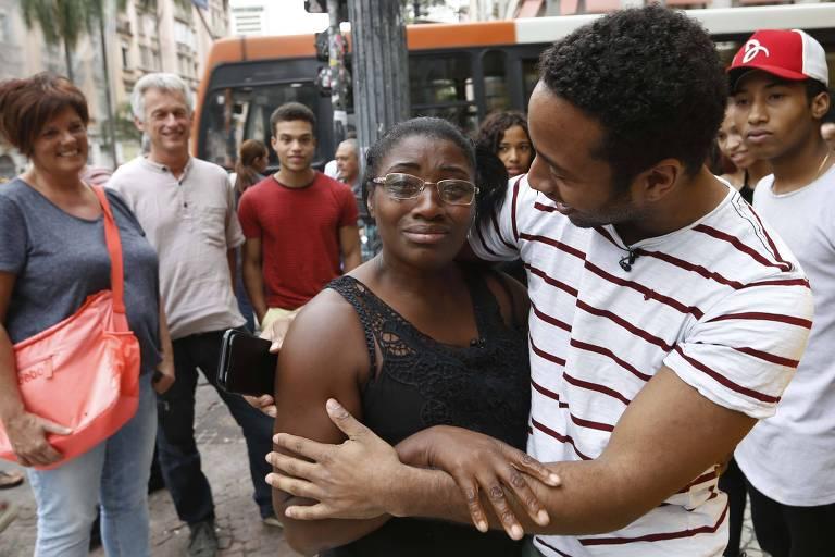 Kilian conhece sua família no Brasil