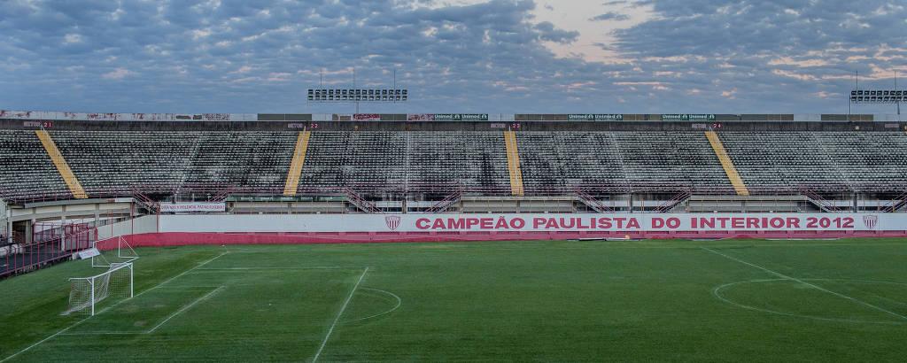 O estádio Vail Chaves está interditado há dois anos e não será utilizado pelo Mogi Mirim em 2019