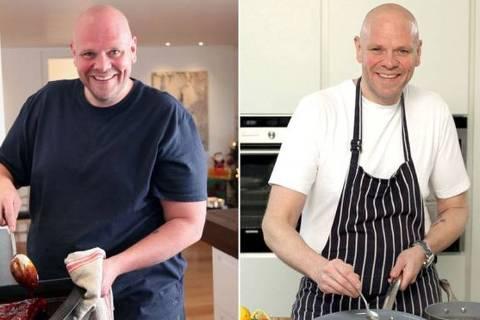 Tom Kerridge perdeu 76 quilos depois de mudar sua alimentação