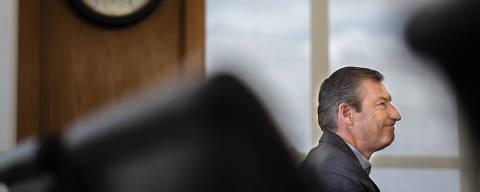 OSASCO, SP, 13.03.2019 - Octavio de Lazari, presidente do Bradesco, em entrevista à Folha. O executivo assumiu o comando do banco em março de 2018. (Foto: Victor Parolin/Folhapress)
