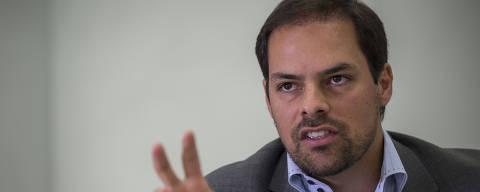SÃO PAULO, SP, BRASIL, 22.01.2018 -  O secretário municipal de Planejamento e Gestão, Paulo Uebel, 38, durante entrevista à Folha, em São Paulo (SP). (Foto: Danilo Verpa/Folhapress)