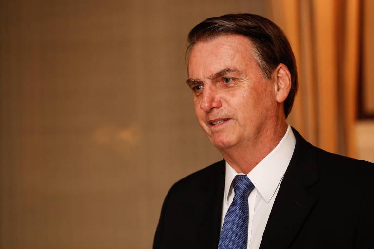 O presidente Jair Bolsonaro em Washington