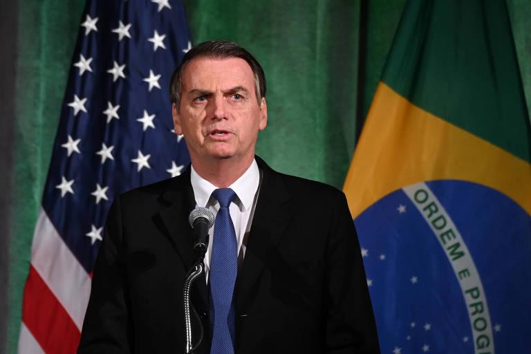 Presidente Jair Bolsonaro em Washington