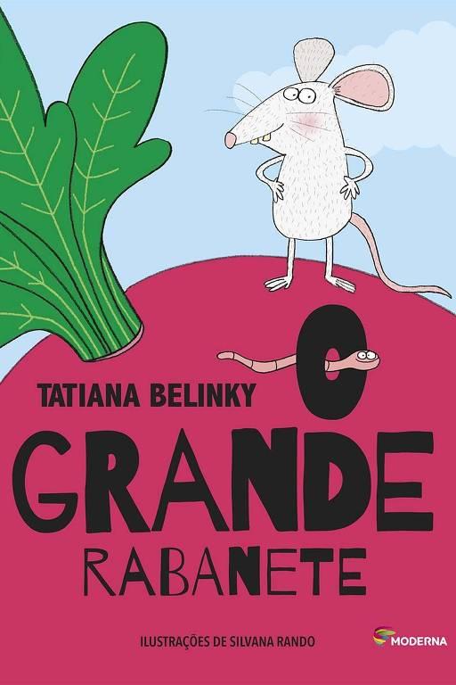 """Capa do livro """"O Grande Rabanete"""", de Tatiana Belinky"""