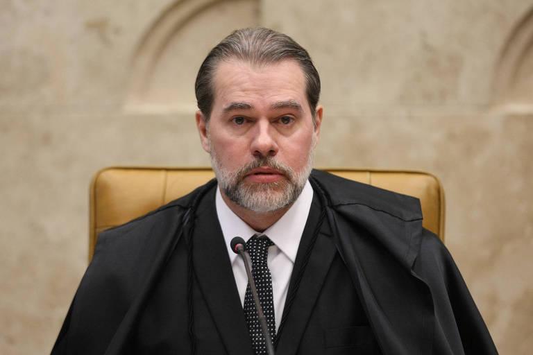 Ministro Dias Toffoli discursa durante sessão de abertura do ano do Judiciário