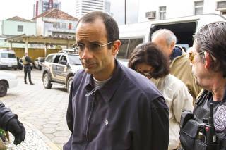 Marcelo Odebrecht chega ao IML para exame de corpo de delito em Curitiba