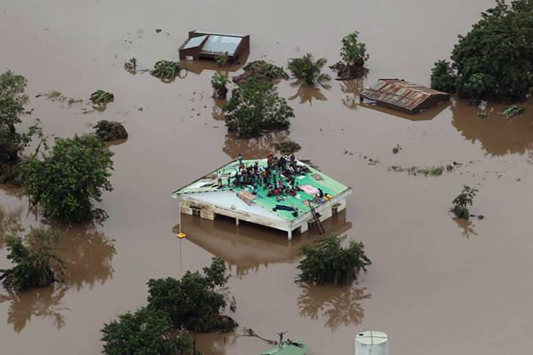 Ciclone na África afetou 2,6 milhões de pessoas e matou mais de 350