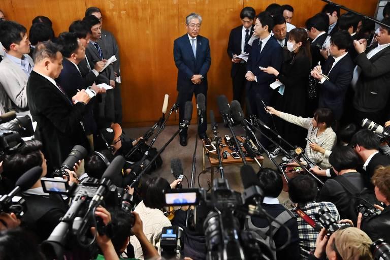 Tsunekazu Takeda anuncia que deixará Comitê Olímpico do Japão