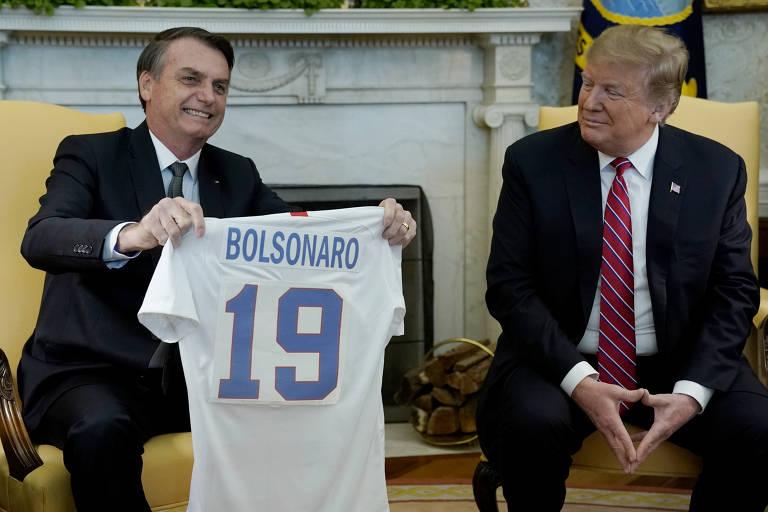 Visita de Bolsonaro aos EUA