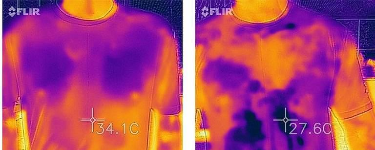 Imagens conseguidas a partir da radiação refletida