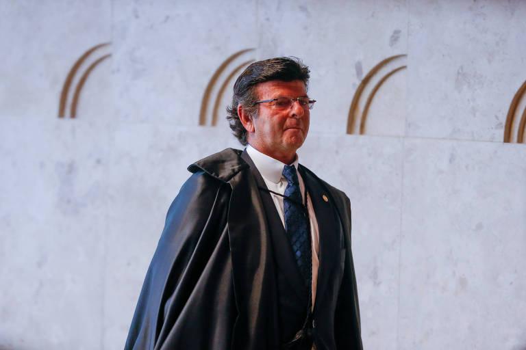 O vice-presidente do Supremo Tribunal Federal, ministro Luiz Fux
