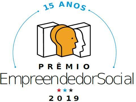 Logo do Prêmio Empreendedor Social 2019