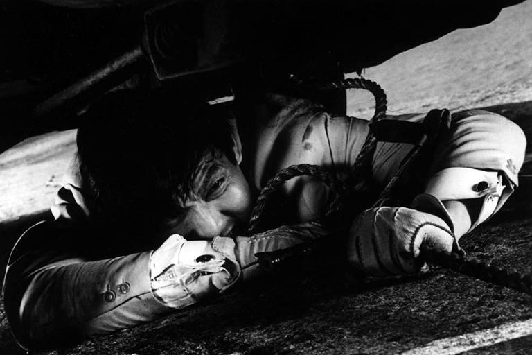 Jô Shishido em 'A Marca do Assassino'