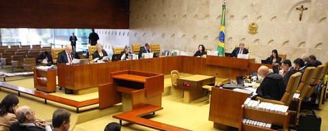 BRASILIA, DF, 13-03-2019  -   Sessão extraordinária do STF, O plenário do Supremo Tribunal Federal (STF) pode definir nesta quarta-feira (13) para onde serão enviados processos abertos para apurar crimes de caixa dois, quando estes são cometidos em conexão com crimes como lavagem de dinheiro e corrupção. Foto: Nelson Jr./SCO/STF