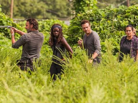 """Cena da série """"The Walking Dead"""". (Foto: Divulgação)"""