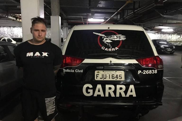 Patrick Galvão Matos Ferreira, falso médico que aplicava silicone industrial em pacientes - Divulgação/PM