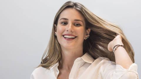 Sao Paulo, SP, BRASIL, 18-03-2019:  Entrevista com Bettina Rudolph, 22 no escritorio da Empiricus na av Faria Lima. Bettina  conta como chegou ao seu R$ 1 mi e a polemica da campanha da Empiricus (Foto: Eduardo Knapp/Folhapress, MERCADO).