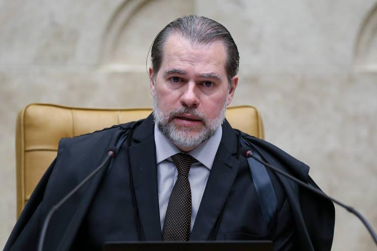 O ministro Dias Toffoli, presidente do STF, que deve adiar julgamento na Corte que trataria de condenações em segunda instância