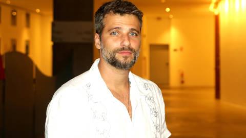 SAO PAULO, SP, BRASIL, 03/02/2019 - o ator Bruno Gagliasso durante abertura da exposicao