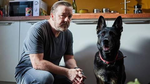 Ricky Gervais em 'After Life'