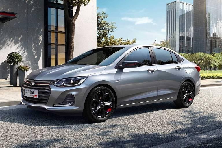 Futuro Chevrolet Prisma é cerca de 20 centímetros maior que modelo atual
