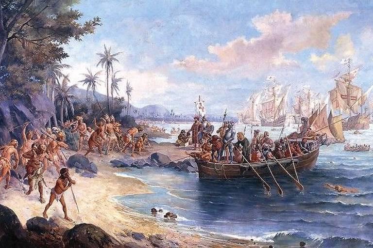 Desembarque de Pedro Álvares Cabral em 1500