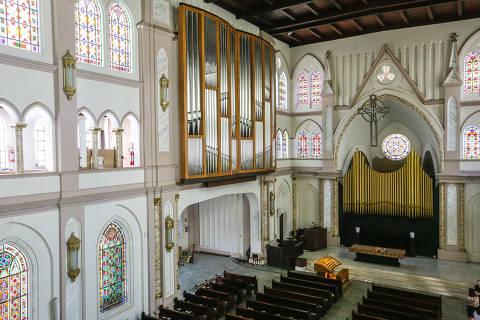 Órgão Grenzing na Catedral Evangélica de São Paulo