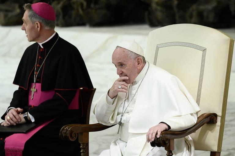 Papa Francisco acompanha cerimônia neste sábado (23), no Vaticano