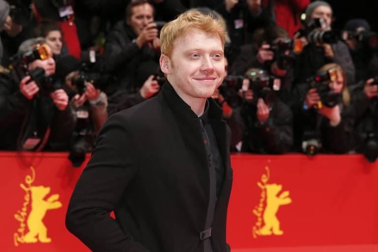 O ator Rupert Grint, que viveu Rony Weasley nos filmes de 'Harry Potter'