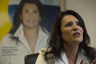 Entrevista com Valéria Bolsonaro