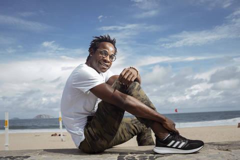 Rio de Janeiro, Rj, BRASIL. 11/03/2019; Retrato do congoles ,Blaise Musipere ,  que saiu do seu pais por causa da guerra e se refugiou no Brasil. Hoje ele é ator e foi selecionado para a novela da Globo