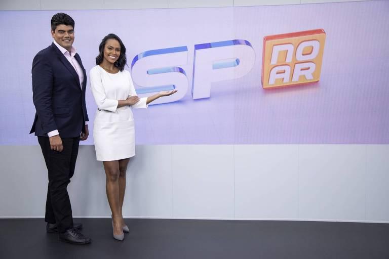 André Azeredo e Salcy Lima são os apresentadores do novo programa da Record