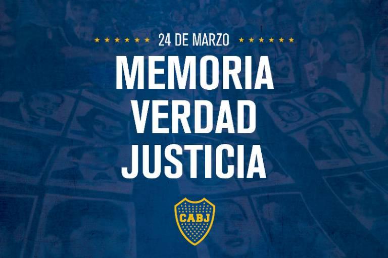 Boca Jrs. divulga nota em repúdio à ditadura na Argentina