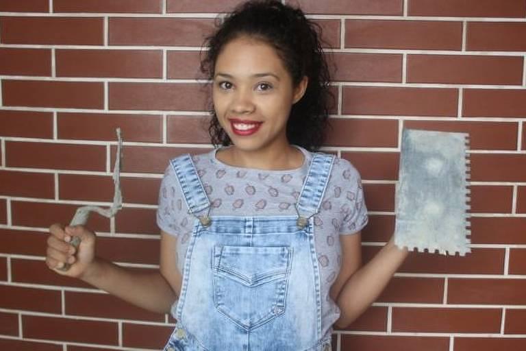 44fd4b3f10e A jovem que construiu a própria a casa e é a única brasileira a dar dicas  de reforma no YouTube