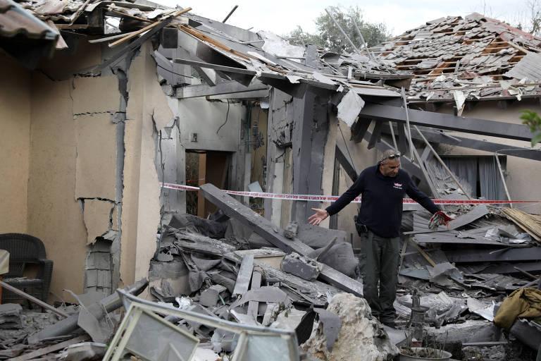 Netanyahu encurta viagem aos EUA após foguete atingir arredores de Tel Aviv